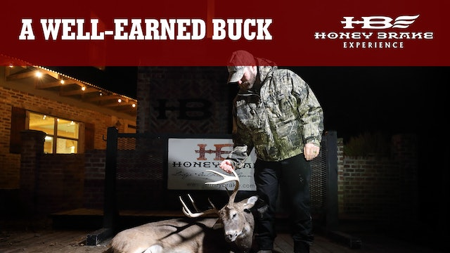 A Well-Earned Buck | Hunting Big Louisiana Whitetails | Honey Brake