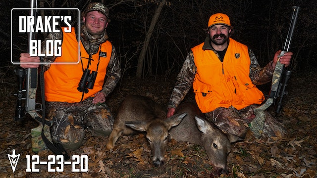 Drake's Blog: Two Does Down | Hunting on Bill Winke's Old Farm