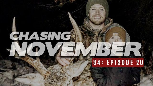 S4E20: Caleb's Backyard Buck, Post Rut Encounters