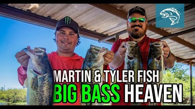 Justin Martin and Tyler Stewart Fish Big Bass Heaven | Fin Commander
