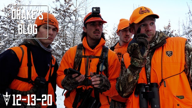 Drake's Blog: Public Land Push | Deer Drives with The Hunting Public