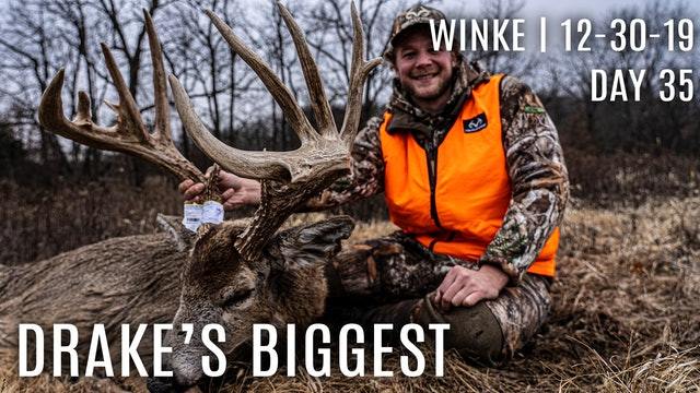 Winke Day 35: Giant CRP Buck with a Muzzleloader