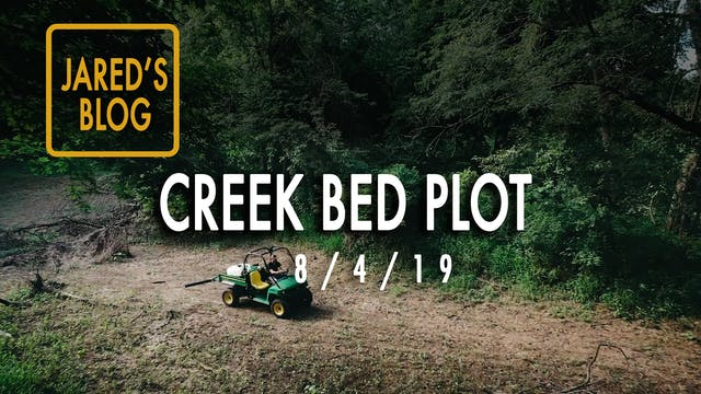 Jared's Blog: Turning A Creek Bed Int...