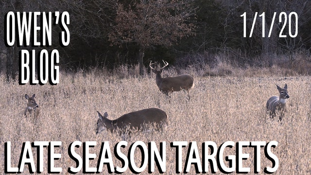 Owen's Blog : Late-Season Hitlist Targets
