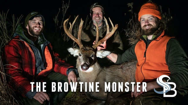 The Brow Tine Monster | A Giant 8-Year-Old Maine Buck Finally Falls | Sea Bucks