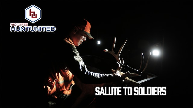 Salute to Soldiers: The Orange Army Hits the Woods