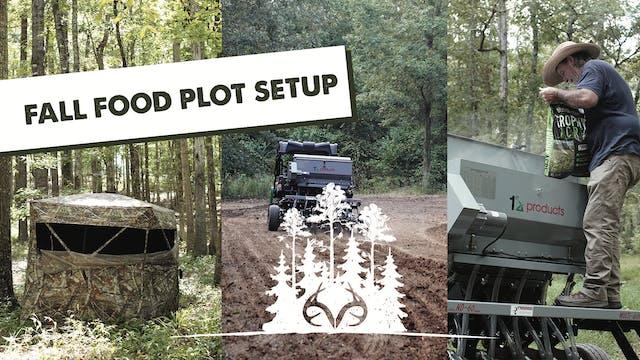 Small Food Plots for Deer | Using ATV...