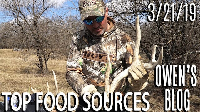 Owen's Blog: Shed Hunting, Top Food S...