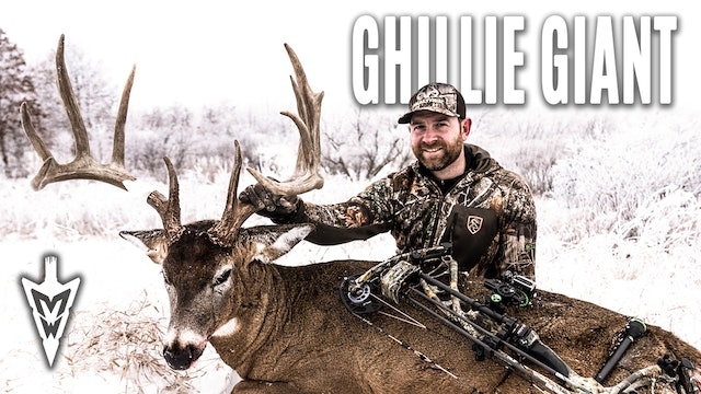 1-18-21: The Big 10 | 183-inch Ghillie Suit Buck With a Bow | Midwest Whitetail