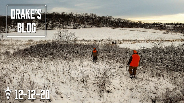 Drake's Blog: Shotgun Season Double | Late-Season Deer Hunting