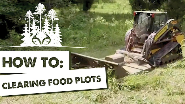 How to Clear and Plan Food Plots | Managing Deer Habitat | Pay Dirt