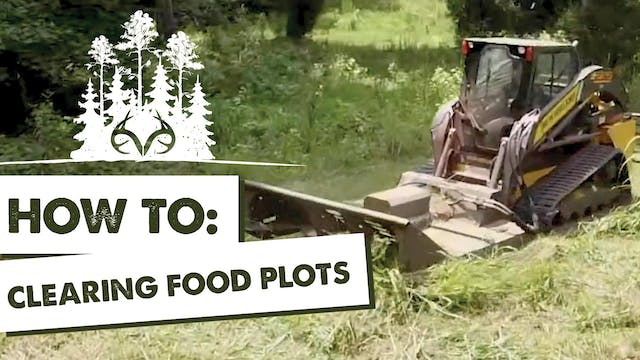 How to Clear and Plan Food Plots | Ma...