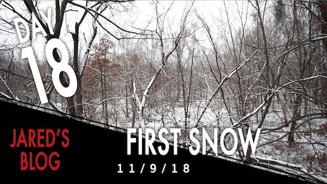 Jared's Blog: Hunting the First Snow