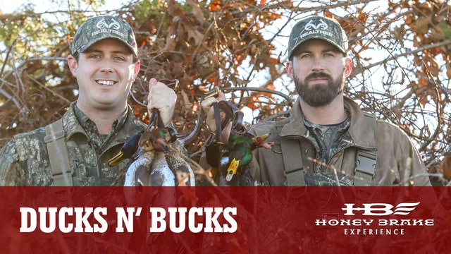 Ducks and Bucks: Riley Green and Tyler Jordan Hunt At Honey Brake