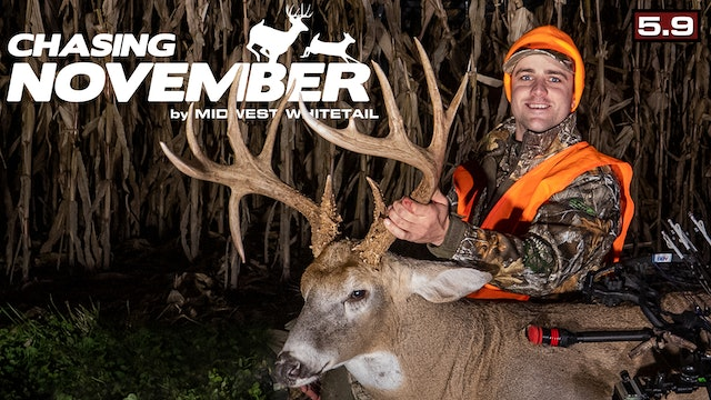 S5.E9. Giant Missouri Drop-Tine Deer | 200-Inch Buck in Range | Chasing November