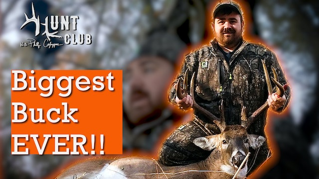 "GIANT ILLINOIS BUCK  |  ""CHEESEBURGER"" GOES NORTH"