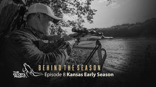 Kansas Deer Hunting with a Muzzleload...