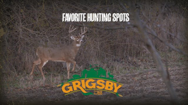 Favorite Hunting Spots, Winter Food P...