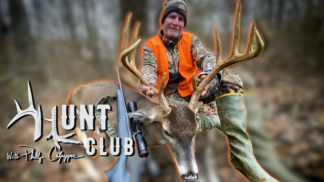 Huge Wounded Deer Grunting and Chasing Does | Big Boom Stick Buck | Hunt Club