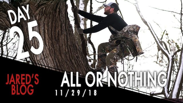 Jared's Blog: All or Nothing