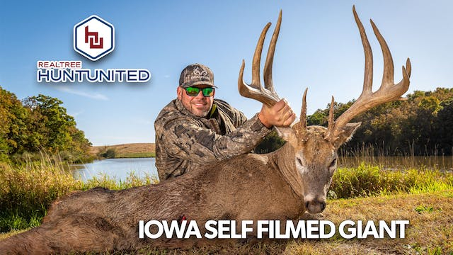 Giant Iowa Bow Kill—Self Filmed!