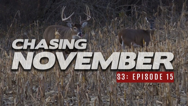 S3E15: Rattling in 3 Bucks, Chasing a Big 10