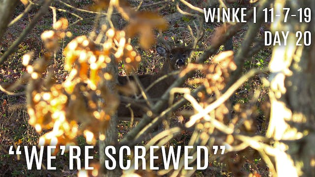 "Winke Day 20: ""We're Screwed"", Shoote..."