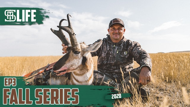 Chris Ashley Tags Biggest Antelope | Bowhunting Prairie Goats | Small Town Life