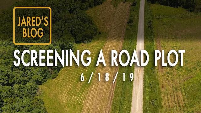Jared's Blog: Screening a Road Plot