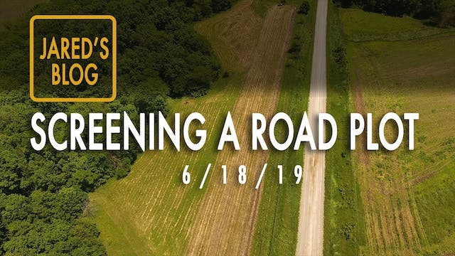 Jared's Blog: Screening a Road Plot