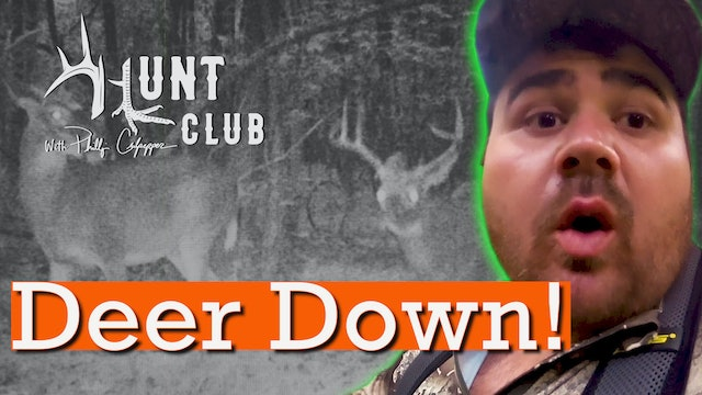 Cheeseburger's Self-Filmed Harvest | Getting Attacked By a Wasp | Hunt Club