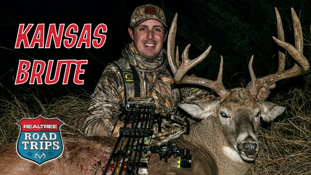 Tyler Jordan's Huge Kansas Deer | Bowhunting Rutting Bucks | Realtree Road Trips