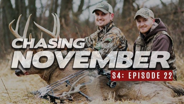 S4E22: Late Season Bow Buck, Cold Front Bruiser