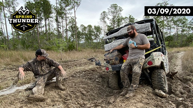 Public-Land Turkey Hunts | ATV Stuck in the Mud | Realtree Spring Thunder