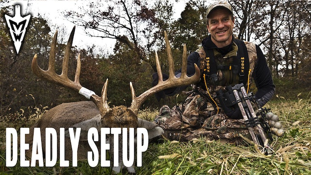 4-6-20: Deadly Big-Buck Setup | The Open-Gate Treestand | Midwest Whitetail