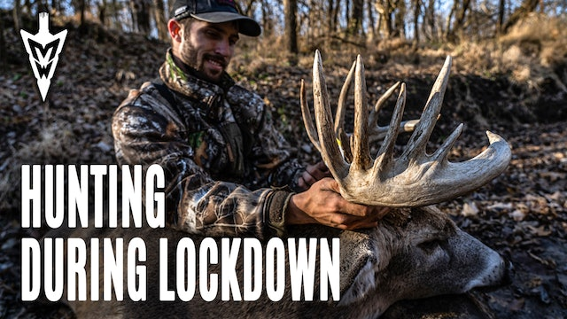 11-16-20: Bowhunting From the Ground | Hunting the Lockdown | Midwest Whitetail