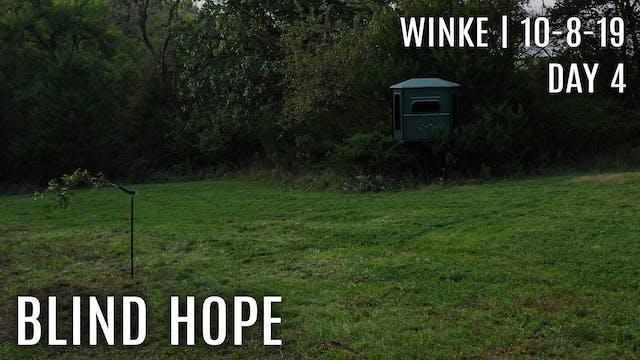 Winke Day 4: Small Plot Success