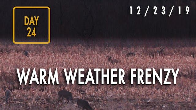 Jared Day 24: Warm-Weather, Late-Seas...