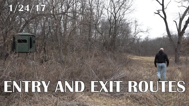 Winke's Blog: Entry And Exit Routes