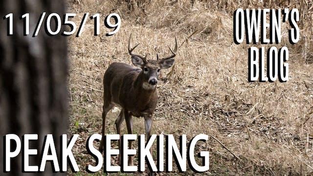 Owen's Blog: Peak Seeking