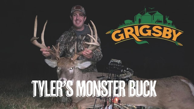 Tyler Jordan's Monster Buck at the Grigsby | A Giant Illinois Deer | Grigsby