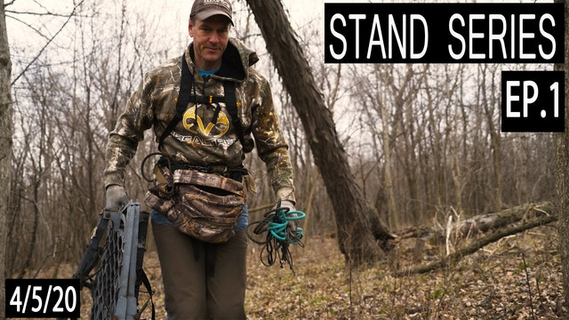 A Morning Rut Funnel | Bill Winke Treestand Location Series