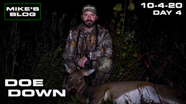 Mike's Blog: Big Doe Down | Some Really Sketchy Winds
