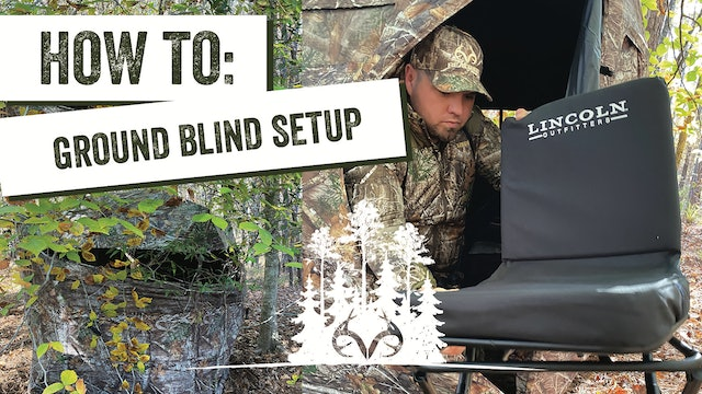 How to Set Up a Ground Blind | Deer Hunting From the Ground | Pay Dirt