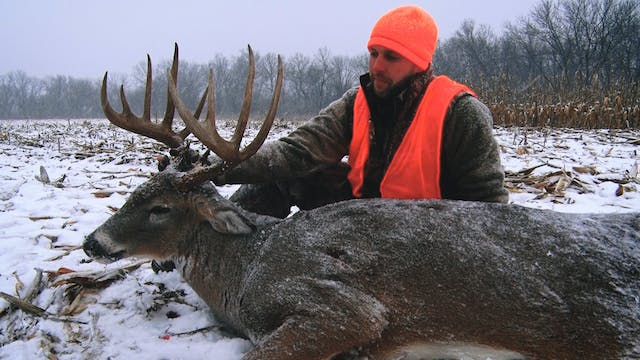 S2E21: 165″ Buck Shot During a Blizzard