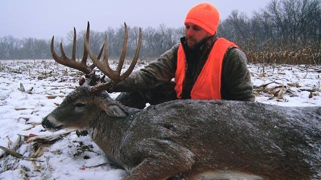 S2E21: 165″ Buck Shot During a Blizzard