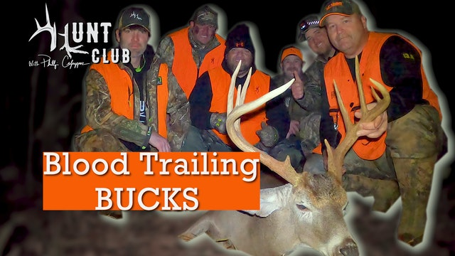 Tracking Big Bucks | Nate Thomas and Michael Pitts Arrive in Camp | Hunt Club