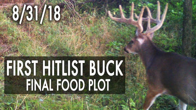 Jared's Blog: First Hitlist Buck, Pos...