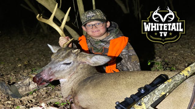 Youth Deer Hunting: Chuck's First Buck