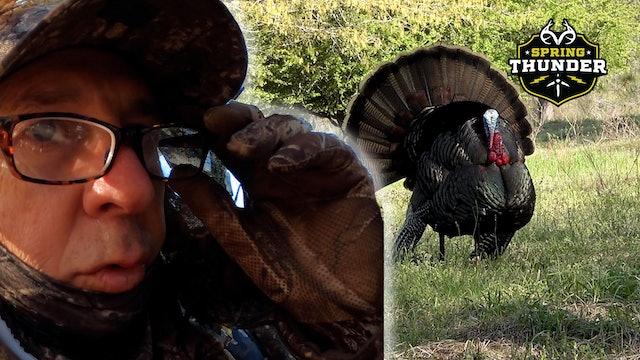 Huge Gobbler With No Beard | Epic Self-Filmed Turkey Hunt | Spring Thunder